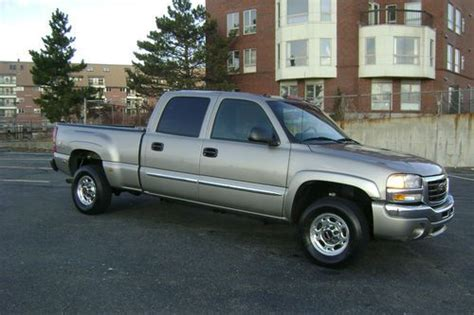 how can i learn about cars 2003 gmc safari transmission control sell used 2003 gmc sierra 2500 sle crew cab pickup auto v8 quadrasteer 4x4 no reserve in