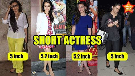 bollywood actress long height 10 bollywood actresses who are short in real life youtube