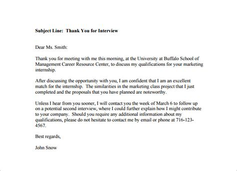 ideas of sample thank you letter by email after interview also