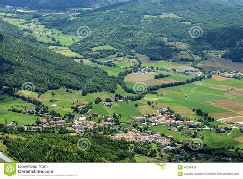 forca canapine web forca canapine umbria stock photo image 46048433