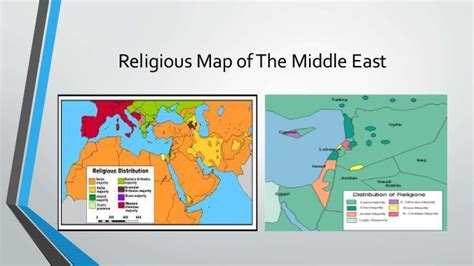middle east map of religions refuting accusations against islam and muslims