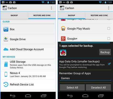 android backup and restore 6 free android backup and restore apps
