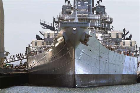 biggest battleships in the world farewell battleship iowa sfgate