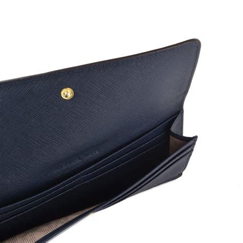 Michael Kors Travel Wallet Navy michael michael kors jet set travel navy flat wallet