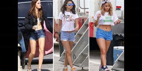 Celana Pendek Hotpants Hotpen Renda memilih hotpants sesuai bentuk kaki dan tubuh agar
