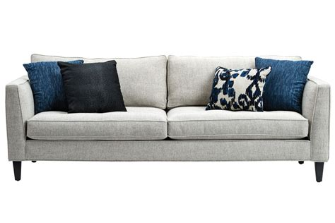 sabrina couch sabrina deauville stone sofa at gardner white