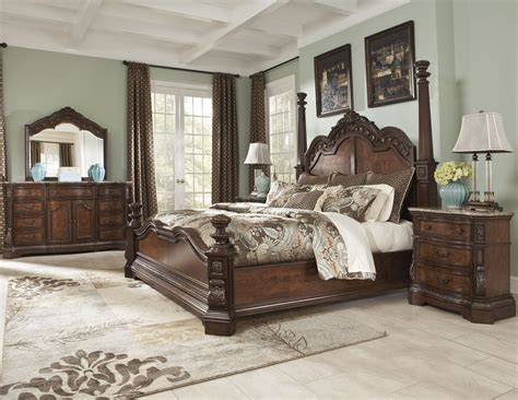 ledelle poster bedroom set from b705 51 71 98 coleman furniture