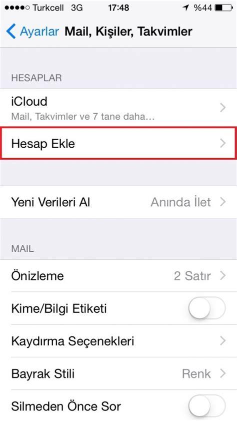 Office 365 Mail Kurulumu Iphone Iphone 6 Ios Mail Kurulumu Pop3 Turhost Destek Merkezi