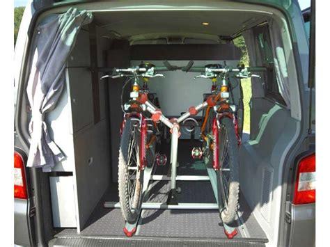 Fahrradhalter F R Auto Innenraum by Fahrradtr 228 Ger F 252 R Den Innenraum Des Vw T5 6 Mit Vw