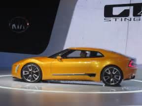 kia new sports car kia gt4 stinger concept at 2014 detroit auto show