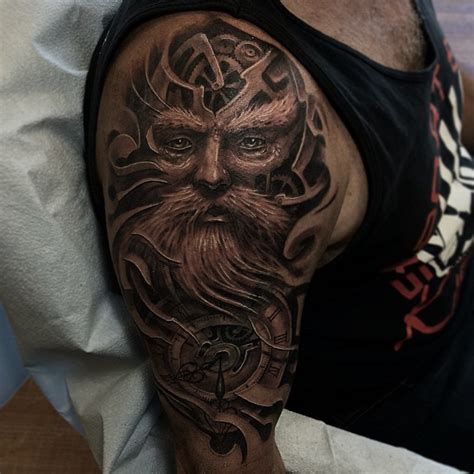 father of time best tattoo ideas gallery