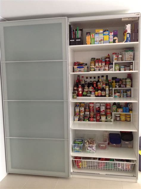 ikea pax wardrobe    kitchen pantry  id