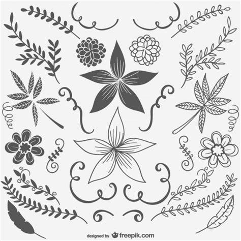 imagenes vintage blanco y negro para imprimir flores en blanco y negro vintage descargar vectores gratis