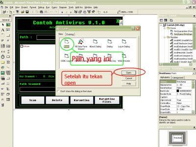 membuat antivirus sederhana cara membuat antivirus sederhana dengan visual basic 6 0