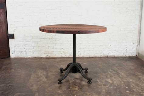 Small Bistro Table Indoor V42 Small Reclaimed Wood Bistro Table Modern Indoor Pub And Bistro Tables Los