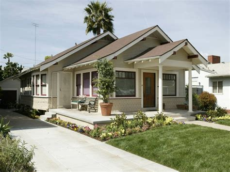small craftsman bungalow plans