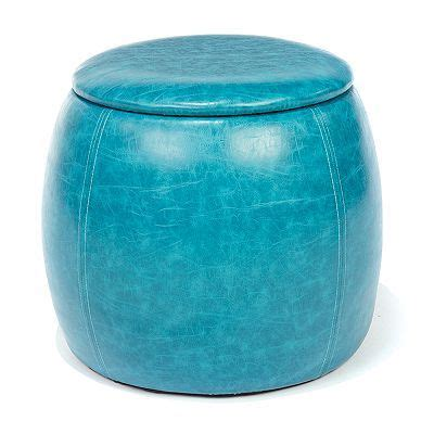 Pin By Stephanie On Turquoise Surprise Pinterest Turquoise Storage Ottoman