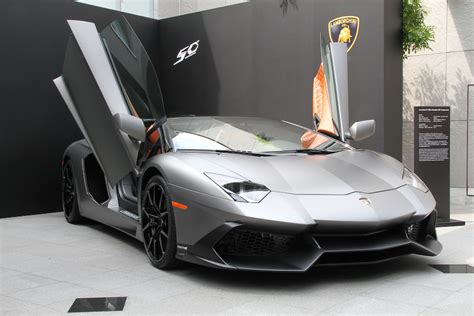 lamborghini aventador s roadster japan edition celebrating 50 lamborghini gallardo and aventador 50th anniversary edition made available in japan
