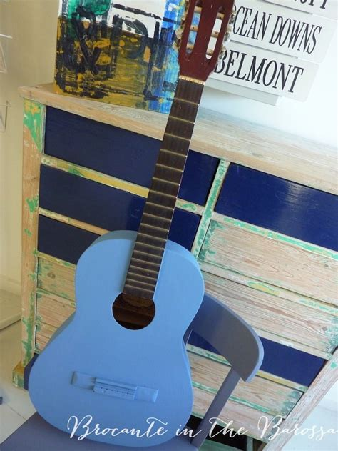 chalkboard paint guitar 17 best images about blue chalk paint 174 projects on