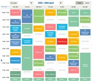 planner creator revision timetable maker study planner