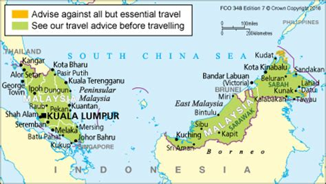 boat from malaysia to indonesia entry requirements malaysia travel advice gov uk