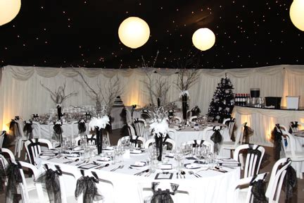 Black And White Themed Party Decorations - themed parties decadent black and white birthday ball berry blue creative food