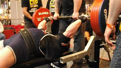bench press 600 lbs oliver williamson 272 5 kg 600 lb bench press body power