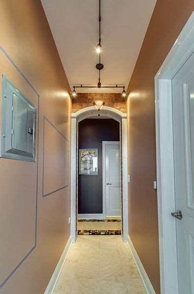 unique track lighting ideas 11 best images about edge lighting hallway on pinterest