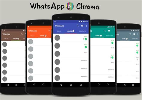 cute whatsapp themes for android theme rro whatsapp chroma rro layer 19 co android