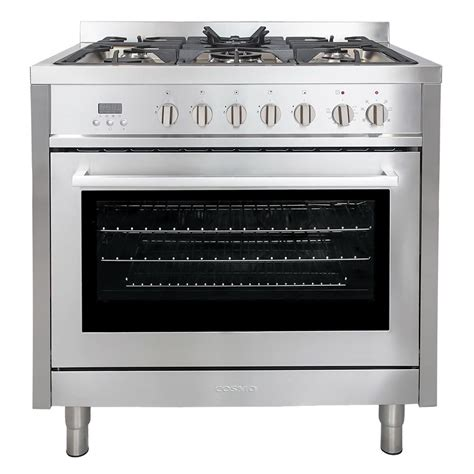 Oven Cosmos kitchenaid 36 in 5 1 cu ft dual fuel range with