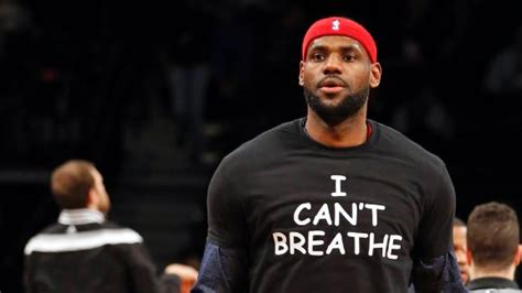 Kaos T Shirt Lebron I Can T Breathe nba wear quot i can t breathe quot t shirts during pregame