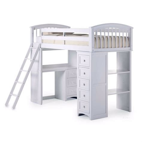 Ebay Bunk Bed With Desk by Student Loft Bed Frame With Desk Storage Bunk