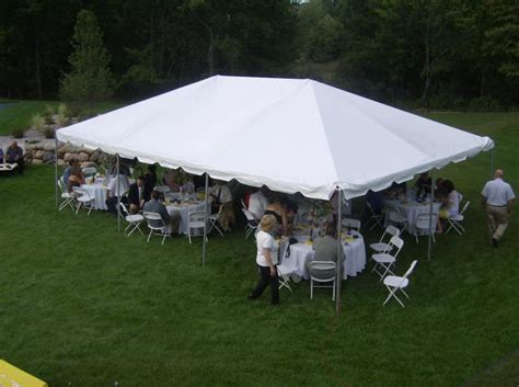20 X 30 Canopy Tent by Party Rental Professional Tent Rentals Frame Tent