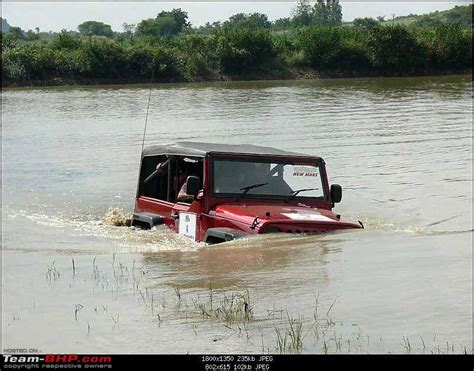 jeep water how to stop jeep from stalling in water team bhp