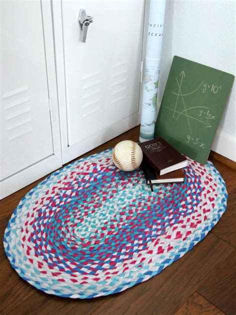 how to make no sew braided rugs easy sew and no sew for rugs home improvement diy network