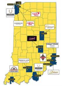 Casinos In Ohio Map by Indiana Casinos Gambling Usa