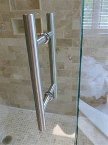 shower door pull handle shower door handles frameless shower doors richmond