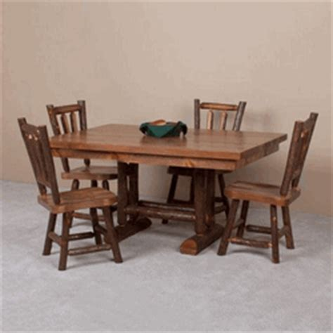 viking dining table dining tables cabin tables lodge fine viking sawtooth hickory pine log dining table