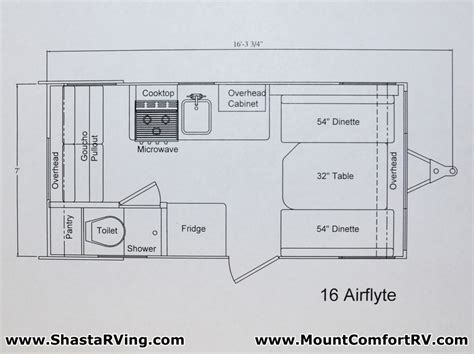 shasta rv floor plans cer the small trailer enthusiast