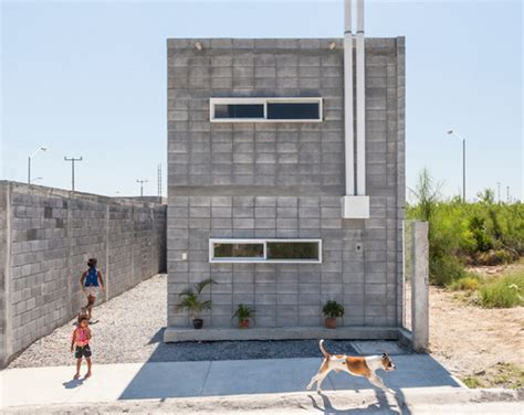 cost of building a green home the casa caja quot box house quot by s ar is a model for low cost