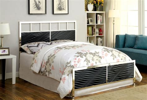 Black Headboard And Footboard Calvin Black King Headboard And Footboard From Furniture Of America Cm7131bk Ek Coleman