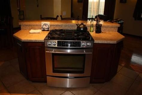 kitchen with stove in island island kitchen with stove kitchen island with built in