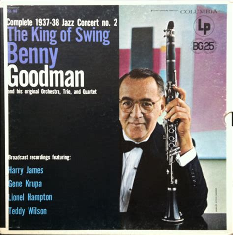 the king of swing benny goodman the king of swing complete 1937 38 jazz