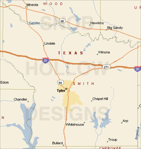 map of smith county texas smith county texas color map