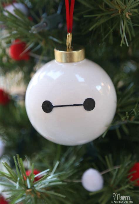 diy ornament decorations disney s big 6 diy baymax ornament