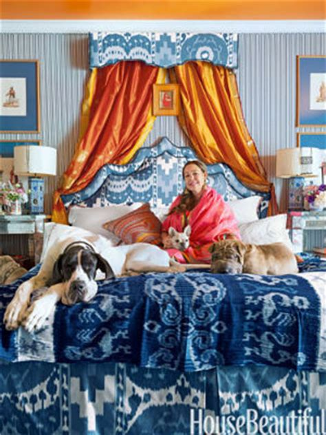 michelle nussbaumer michelle nussbaumer s beastly bedroom via house beautiful
