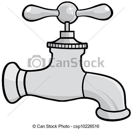 disegno rubinetto clipart vettoriali di acqua rubinetto illustrazione di