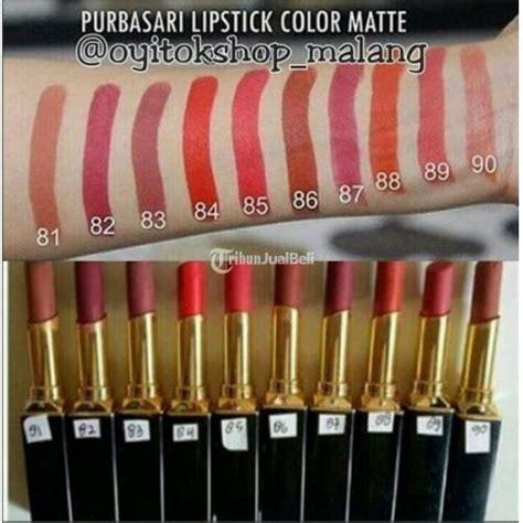 Harga Lipstik Purbasari No 88 make up lipstick purbasari matte tahan lama murah