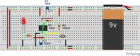 capacitor led project 10 breadboard projects for beginners 17 steps with pictures