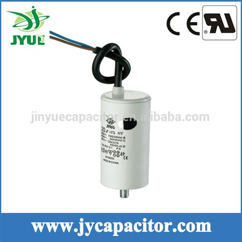 single capacitor 250vac 450vac polypropylene capacitor single phase motor capacitors from wenling jiayang